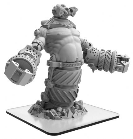 Hammerklak  Monsterpocalypse Subterran Uprising Monster (metal/resin)